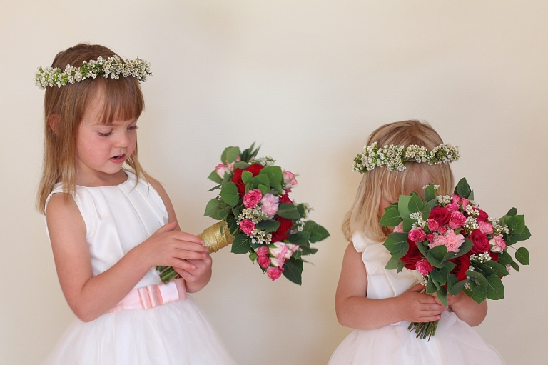 flower girl bouquets